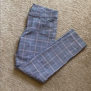 Old navy plaid checkered pixie pants